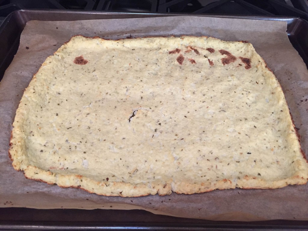 Baked crust