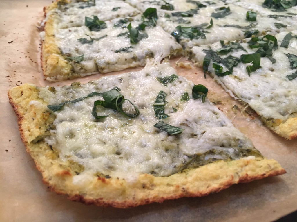 Cauliflower White Pizza