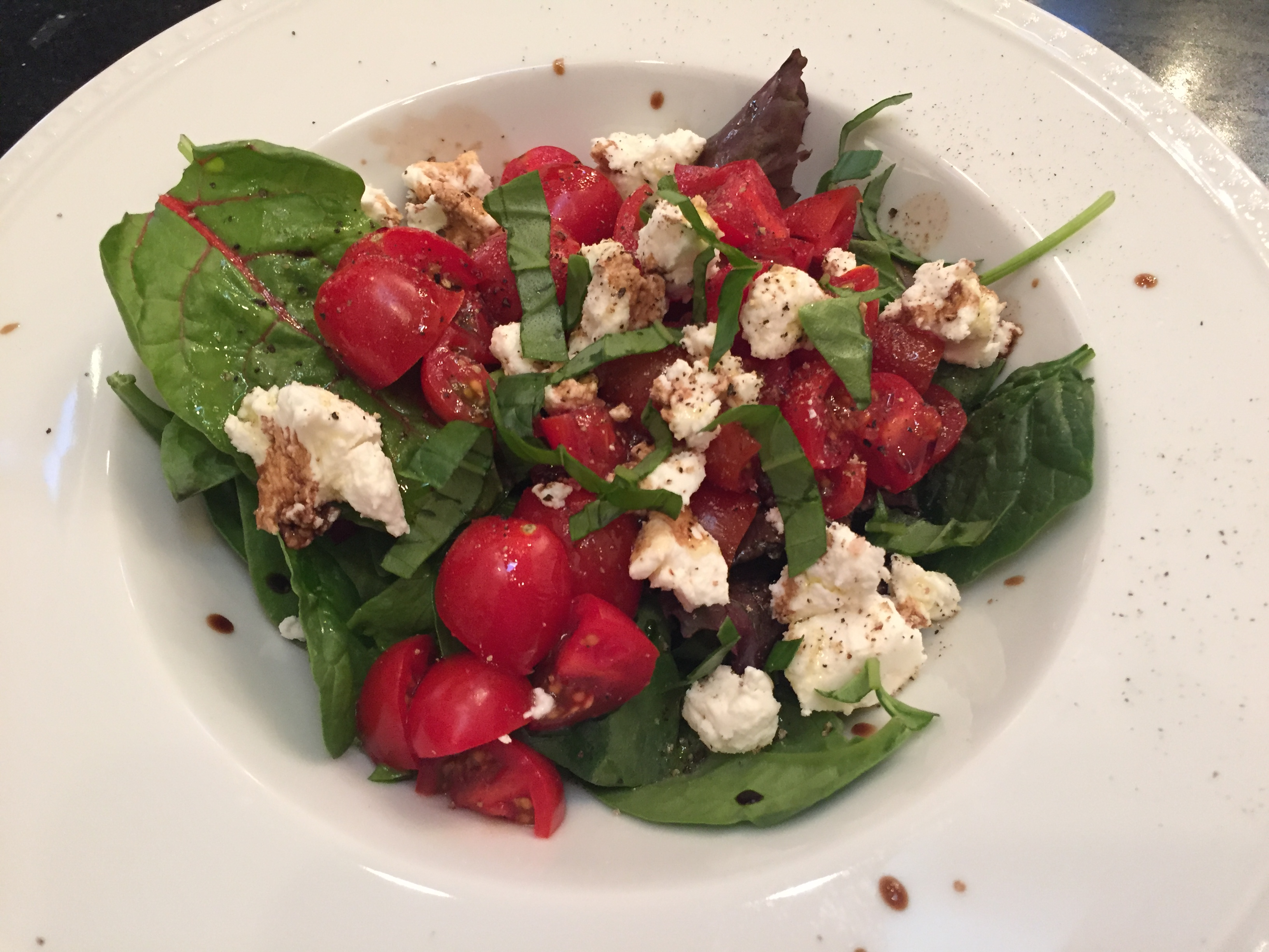 Goat Cheese Tomato Salad