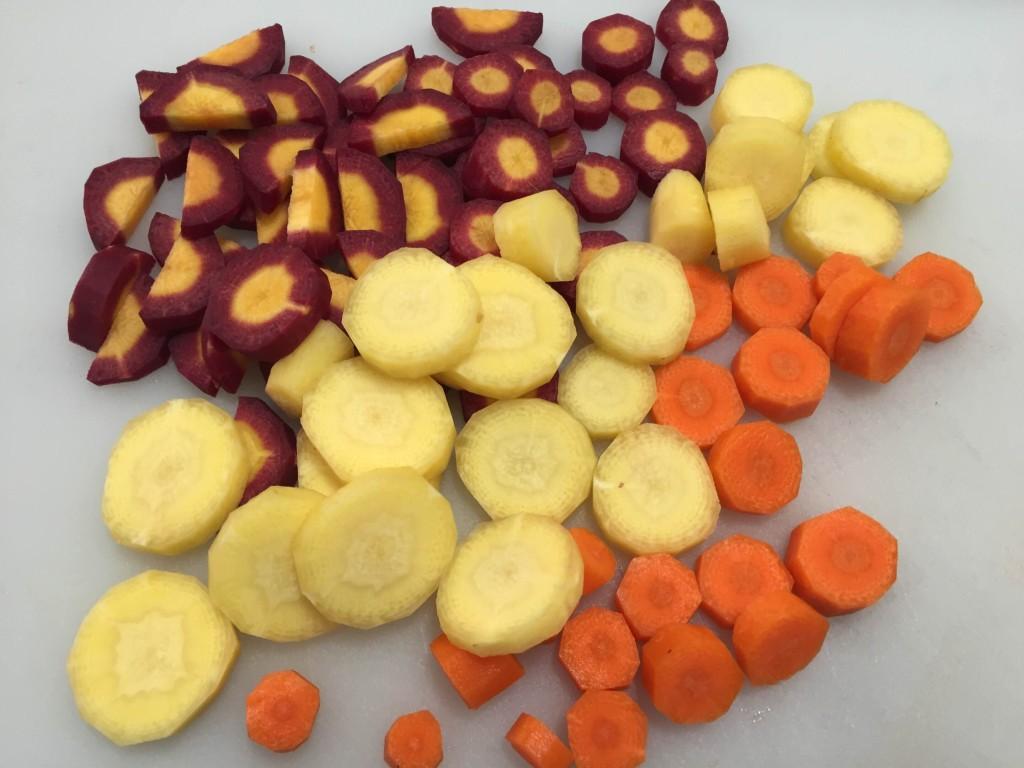 Carrots Cut