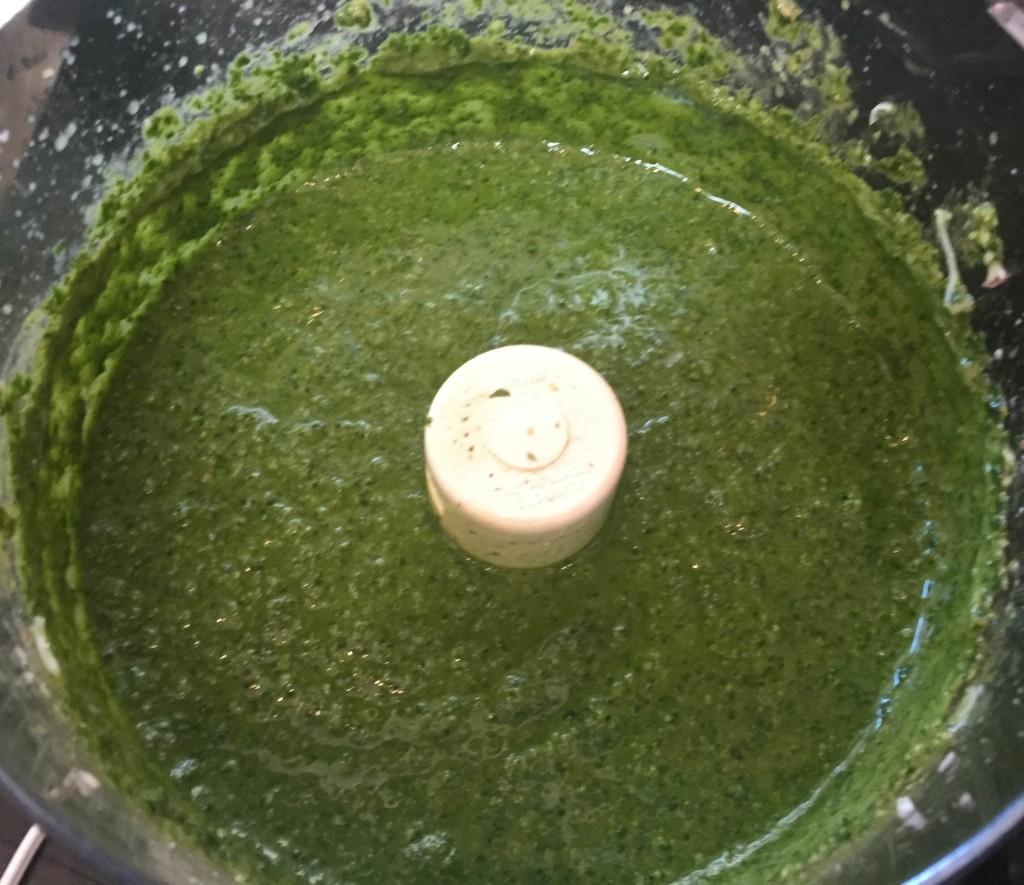 Pesto Blended