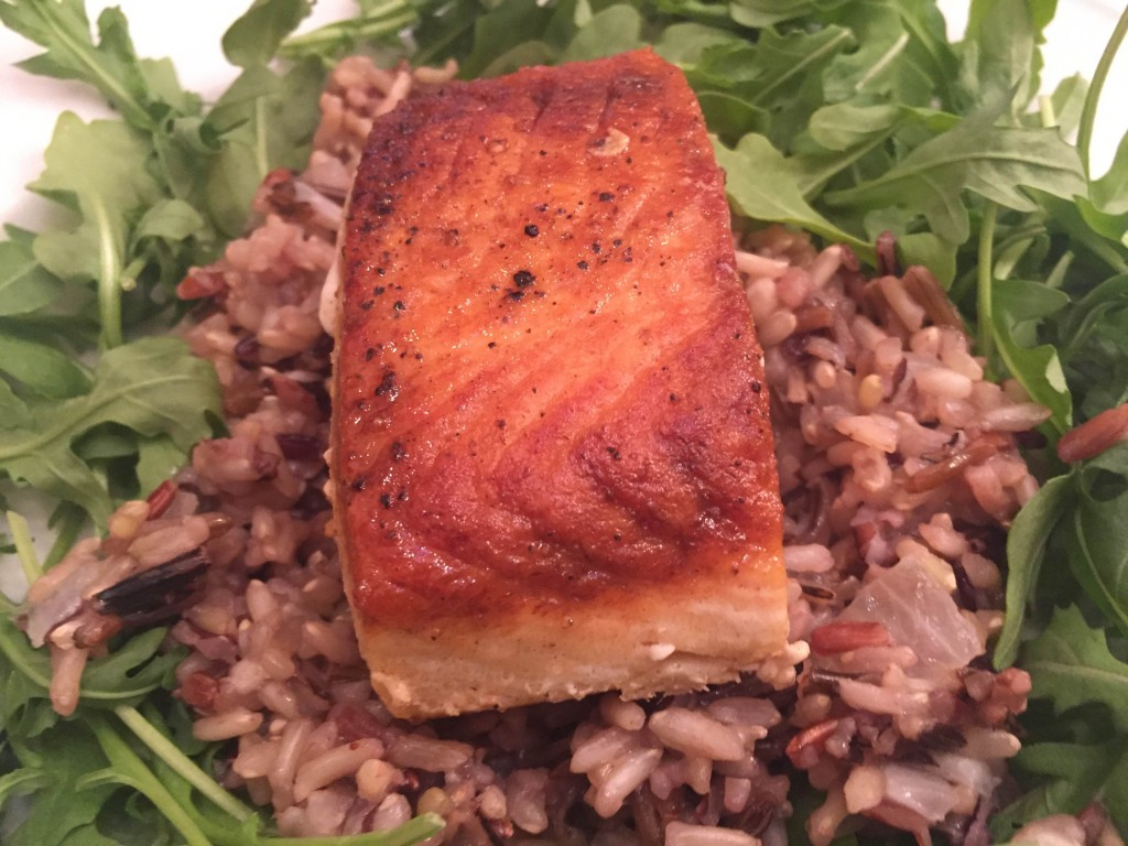 Salmon Seared